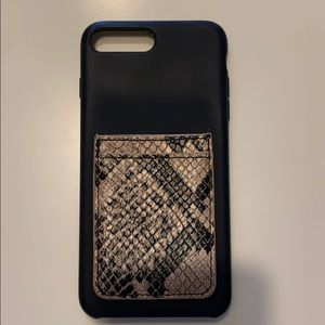 iPhone 8 Plus Phone case with Credit Card Holder